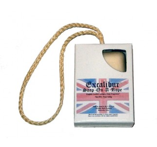 Excalibur (English Leather type) Soap-On-A-Rope