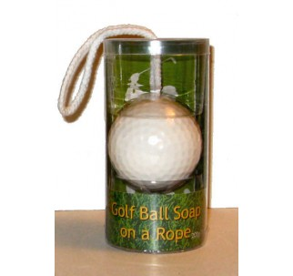 Golf Ball Soap-On-A-Rope (Case of 48)