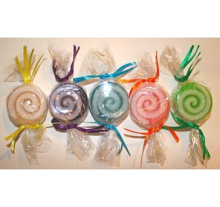 Hard Candy Soap - Set of 5