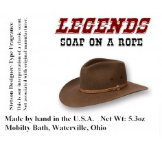 Legends Soap-On-A-Rope (Stetson type fragrance*)
