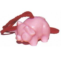 Pink Pig Soap-On-A-Rope