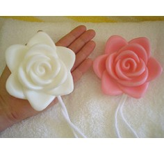 Rose Soap-On-A-Rope