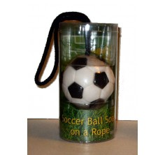 Soccer Ball Soap-On-A-Rope (Case of 48)